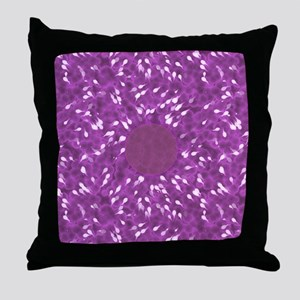 Little Swimmers - Pink Throw Pillow