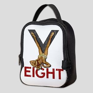 V8 Engine Power Pinup Neoprene Lunch Bag