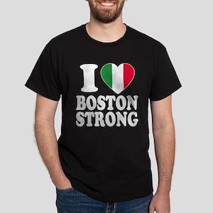 Italian Boston pride Dark T-Shirt