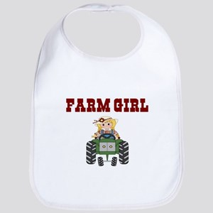 FARM GIRL Bib