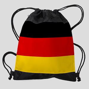 Flag of Germany Drawstring Bag
