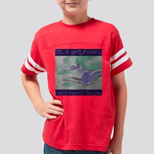 Greyhound Race Home Youth Football Shirt
