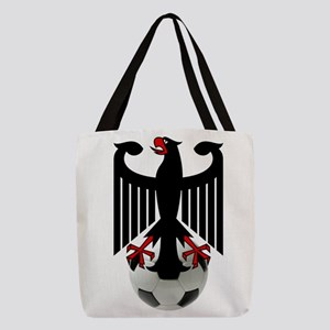 German Football Eagle Polyester Tote Bag