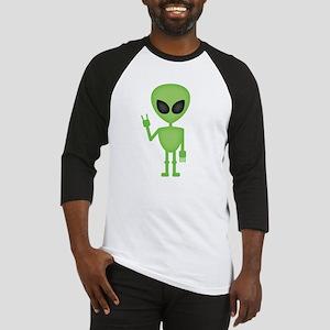 Aliens Rock Baseball Jersey