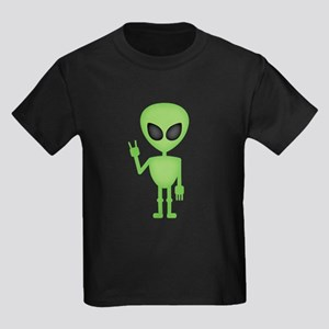 Aliens Rock Kids Dark T-Shirt