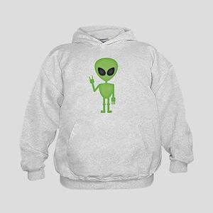 Aliens Rock Kids Hoodie