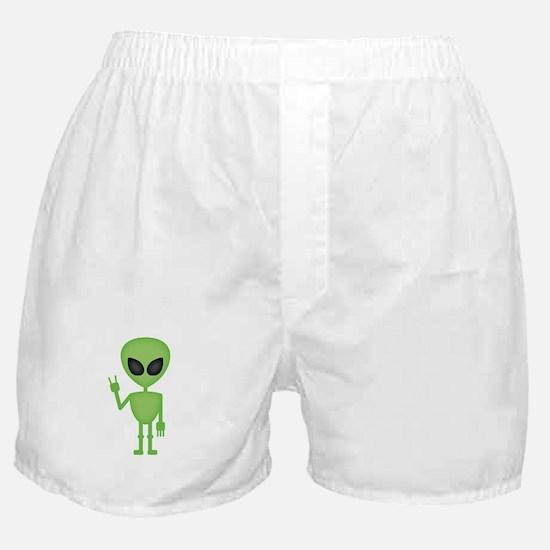 Aliens Rock Boxer Shorts