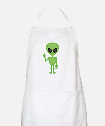 Aliens Rock Apron