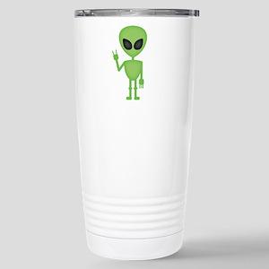 Aliens Rock Stainless Steel Travel Mug