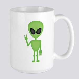 Aliens Rock Large Mug