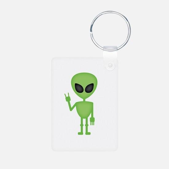 Aliens Rock Keychains