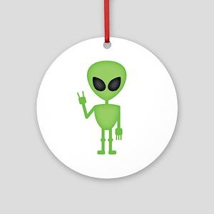 Aliens Rock Ornament (Round)