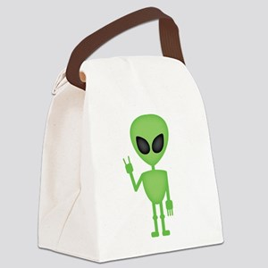 Aliens Rock Canvas Lunch Bag
