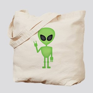 Aliens Rock Tote Bag
