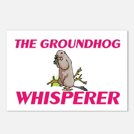 The Groundhog Whisperer Postcards (Package of 8)