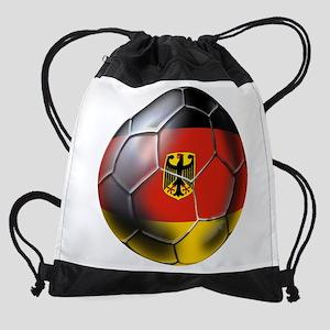 German Soccer Ball Drawstring Bag