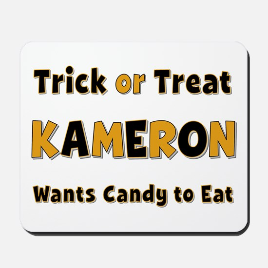 Kameron Trick or Treat Mousepad