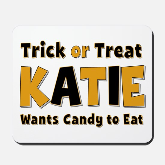 Katie Trick or Treat Mousepad