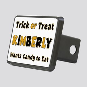 Kimberly Trick or Treat Rectangular Hitch Cover