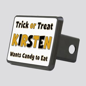 Kirsten Trick or Treat Rectangular Hitch Cover