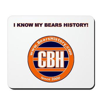 BearsHistory.com Mousepad