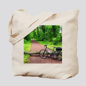 Bike Trail Tote Bag