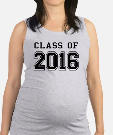 Class of 2016 Maternity Tank Top