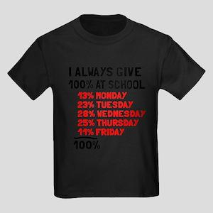 100% at school T-Shirt