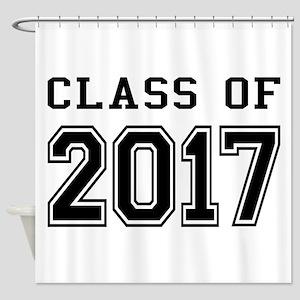 Class of 2017 Shower Curtain