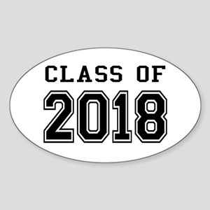Class of 2018 Sticker (Oval)