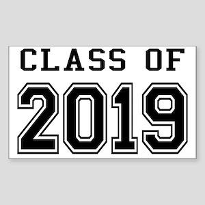 Class of 2019 Sticker (Rectangle)