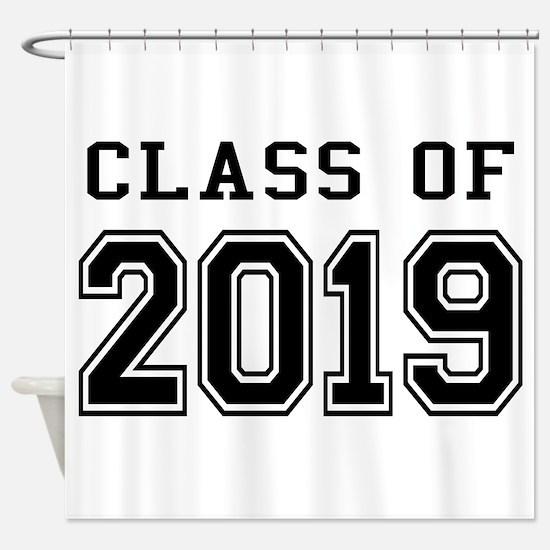 Class of 2019 Shower Curtain
