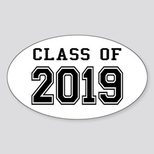 Class of 2019 Sticker (Oval)