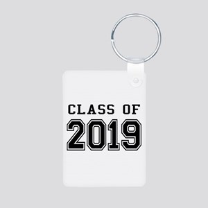 Class of 2019 Aluminum Photo Keychain