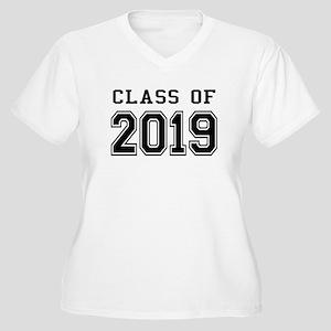 Class of 2019 Women's Plus Size V-Neck T-Shirt