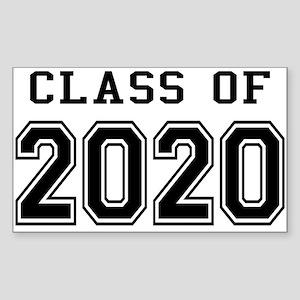 Class of 2020 Sticker (Rectangle)