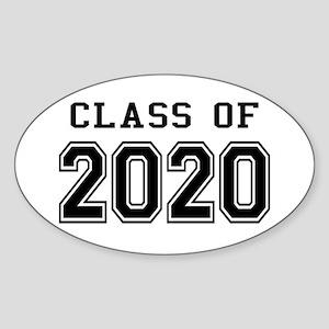 Class of 2020 Sticker (Oval)