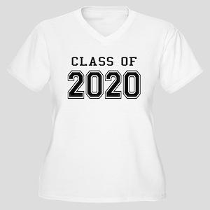 Class of 2020 Women's Plus Size V-Neck T-Shirt