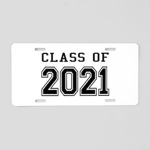 Class of 2021 Aluminum License Plate
