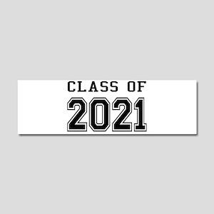 Class of 2021 Car Magnet 10 x 3