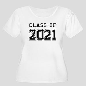 Class of 2021 Women's Plus Size Scoop Neck T-Shirt