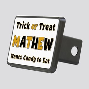 Mathew Trick or Treat Rectangular Hitch Cover