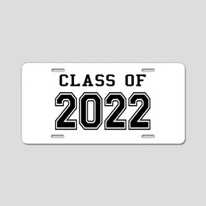 Class of 2022 Aluminum License Plate