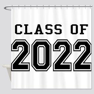 Class of 2022 Shower Curtain
