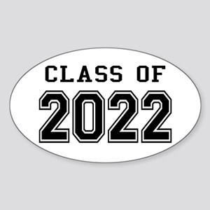 Class of 2022 Sticker (Oval)