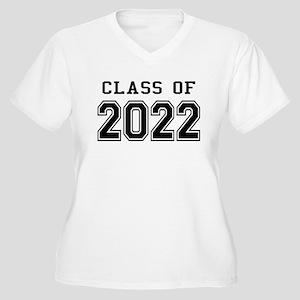 Class of 2022 Women's Plus Size V-Neck T-Shirt