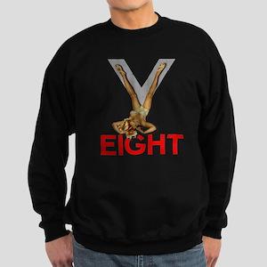 V8 Engine Power Pinup Sweatshirt (dark)