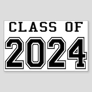Class of 2024 Sticker (Rectangle)