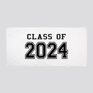 Class of 2024 Beach Towel