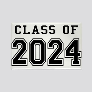 Class of 2024 Rectangle Magnet